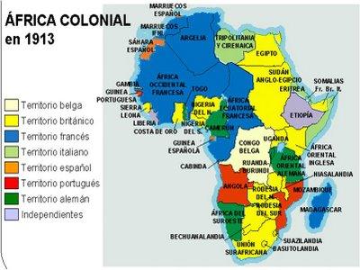 Mapas cartogrficos de Africa y Asia en el imperialismo  Historia